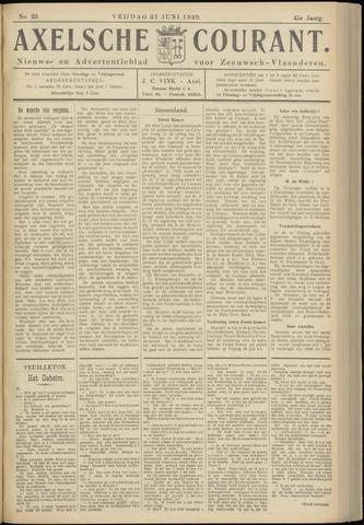 Axelsche Courant 1929-06-21