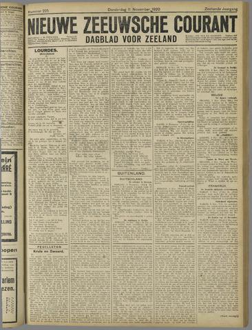 Nieuwe Zeeuwsche Courant 1920-11-11