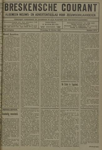 Breskensche Courant 1922-10-25