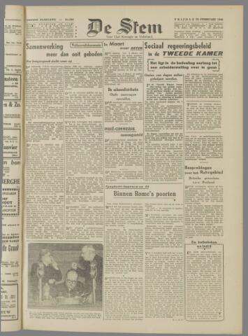 de Stem 1946-02-22