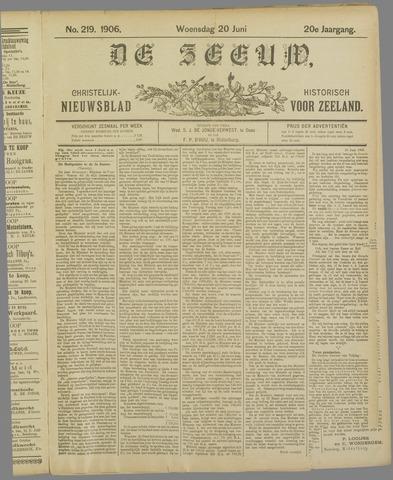 De Zeeuw. Christelijk-historisch nieuwsblad voor Zeeland 1906-06-20