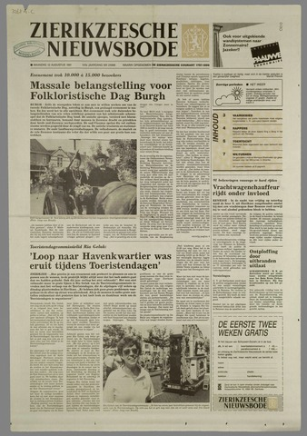 Zierikzeesche Nieuwsbode 1991-08-12