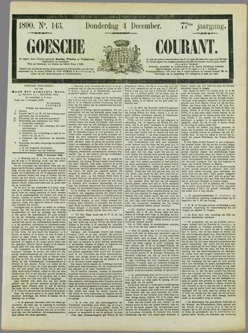 Goessche Courant 1890-12-04