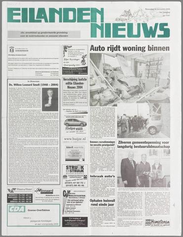 Eilanden-nieuws. Christelijk streekblad op gereformeerde grondslag 2004-12-22