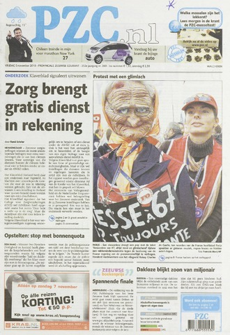 Provinciale Zeeuwse Courant 2010-11-05