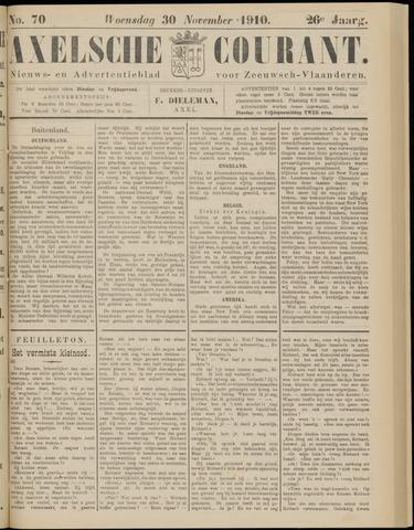 Axelsche Courant 1910-11-30