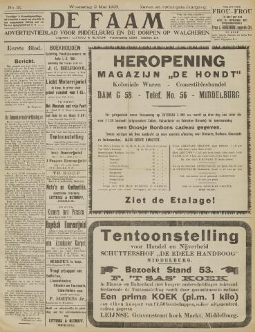 de Faam en de Faam/de Vlissinger 1923-05-02