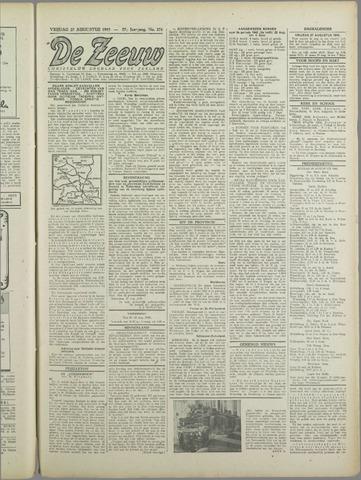 De Zeeuw. Christelijk-historisch nieuwsblad voor Zeeland 1943-08-27