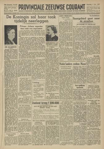 Provinciale Zeeuwse Courant 1947-10-04