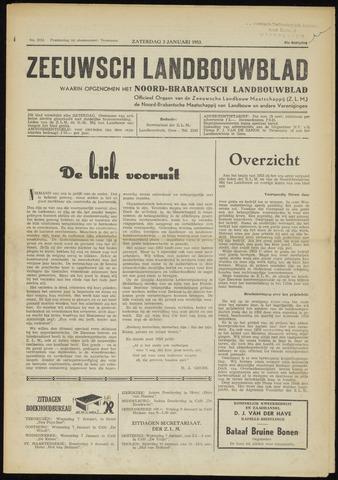 Zeeuwsch landbouwblad ... ZLM land- en tuinbouwblad 1953-01-03