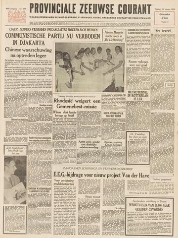 Provinciale Zeeuwse Courant 1965-10-19