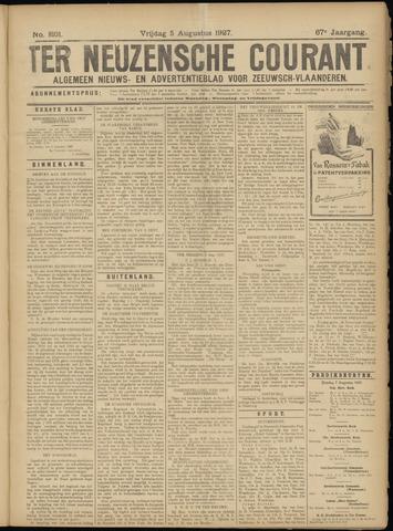 Ter Neuzensche Courant. Algemeen Nieuws- en Advertentieblad voor Zeeuwsch-Vlaanderen / Neuzensche Courant ... (idem) / (Algemeen) nieuws en advertentieblad voor Zeeuwsch-Vlaanderen 1927-08-05