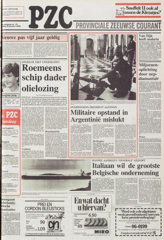 Provinciale Zeeuwse Courant 1988-01-19