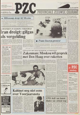 Provinciale Zeeuwse Courant 1985-03-23