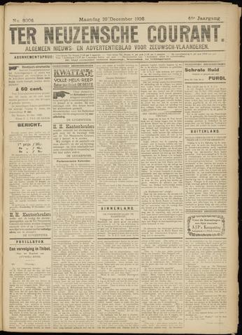 Ter Neuzensche Courant. Algemeen Nieuws- en Advertentieblad voor Zeeuwsch-Vlaanderen / Neuzensche Courant ... (idem) / (Algemeen) nieuws en advertentieblad voor Zeeuwsch-Vlaanderen 1926-12-20