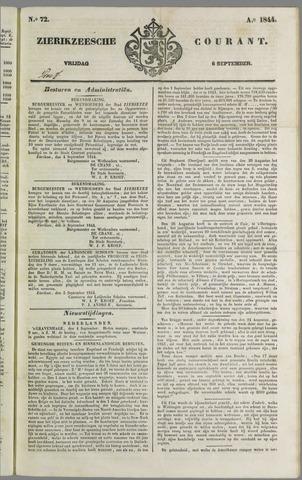 Zierikzeesche Courant 1844-09-06