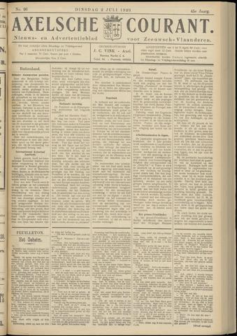 Axelsche Courant 1929-07-02