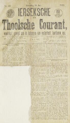 Ierseksche en Thoolsche Courant 1886-07-31