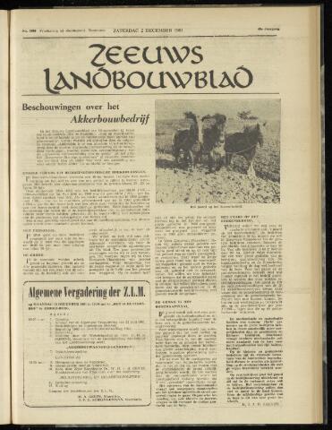 Zeeuwsch landbouwblad ... ZLM land- en tuinbouwblad 1961-12-02