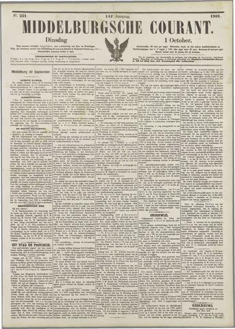 Middelburgsche Courant 1901-10-01