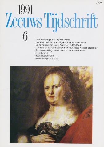 Zeeuws Tijdschrift 1991-11-01