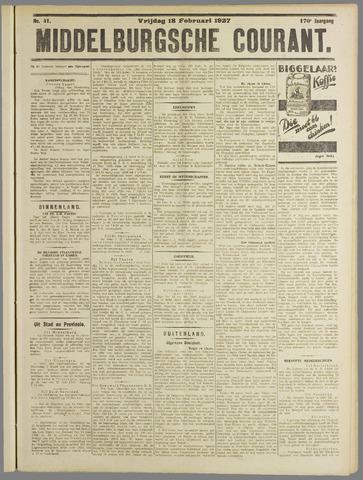 Middelburgsche Courant 1927-02-18