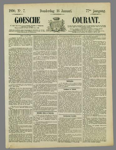 Goessche Courant 1890-01-16