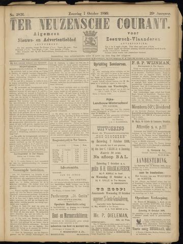 Ter Neuzensche Courant. Algemeen Nieuws- en Advertentieblad voor Zeeuwsch-Vlaanderen / Neuzensche Courant ... (idem) / (Algemeen) nieuws en advertentieblad voor Zeeuwsch-Vlaanderen 1899-10-07