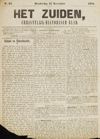 Het Zuiden, Christelijk-historisch blad 1876-11-23