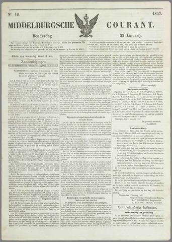 Middelburgsche Courant 1857-01-22