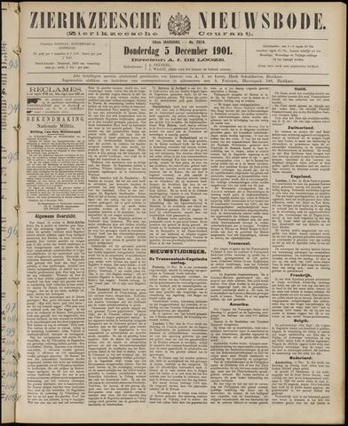Zierikzeesche Nieuwsbode 1901-12-05