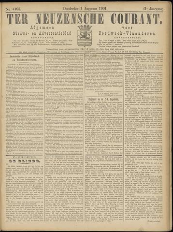 Ter Neuzensche Courant. Algemeen Nieuws- en Advertentieblad voor Zeeuwsch-Vlaanderen / Neuzensche Courant ... (idem) / (Algemeen) nieuws en advertentieblad voor Zeeuwsch-Vlaanderen 1901-08-01