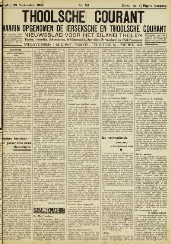 Ierseksche en Thoolsche Courant 1939-09-29