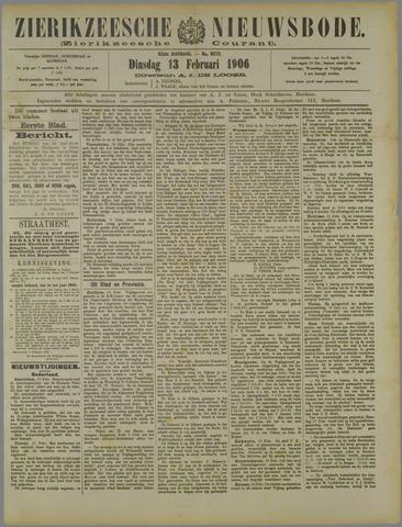 Zierikzeesche Nieuwsbode 1906-02-13