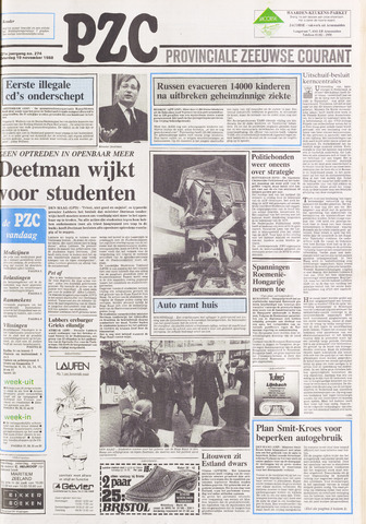 Provinciale Zeeuwse Courant 1988-11-19
