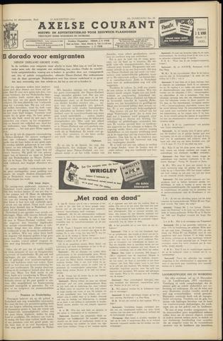 Axelsche Courant 1954-08-28