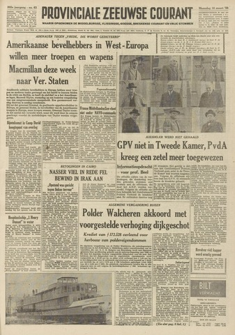 Provinciale Zeeuwse Courant 1959-03-16