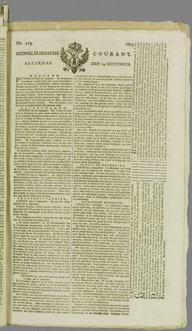 Middelburgsche Courant 1805-09-14