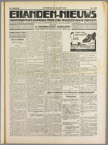 Eilanden-nieuws. Christelijk streekblad op gereformeerde grondslag 1938-03-26