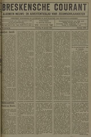 Breskensche Courant 1922-01-28