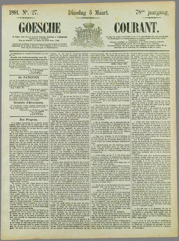 Goessche Courant 1891-03-03