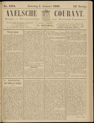 Axelsche Courant 1898