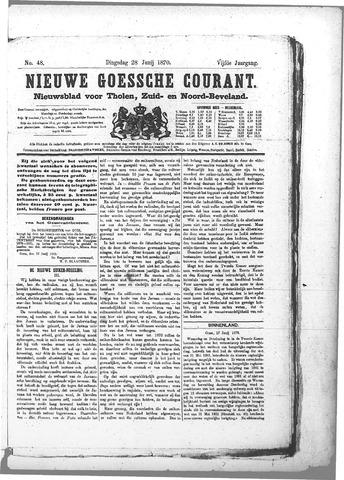 Nieuwe Goessche Courant 1870-06-28