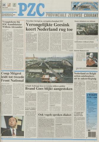 Provinciale Zeeuwse Courant 1999-01-25