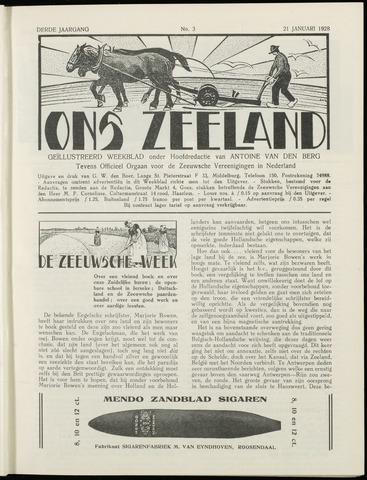 Ons Zeeland / Zeeuwsche editie 1928-01-21