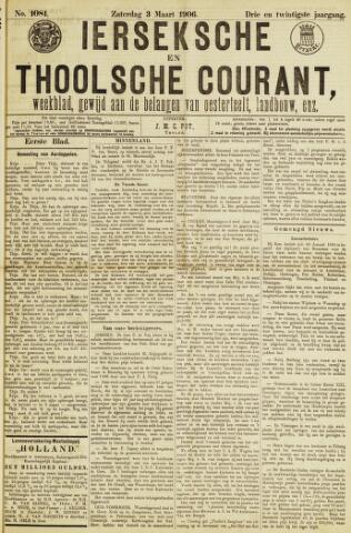 Ierseksche en Thoolsche Courant 1906-03-03
