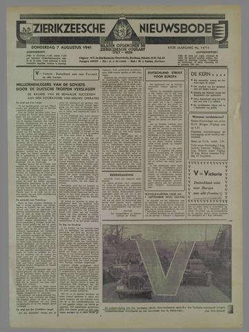 Zierikzeesche Nieuwsbode 1941-08-08