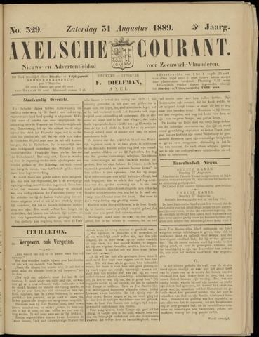 Axelsche Courant 1889-08-31