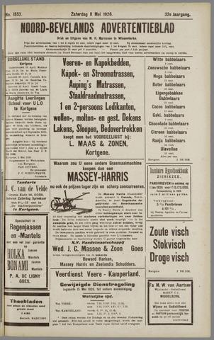 Noord-Bevelands Nieuws- en advertentieblad 1926-05-08