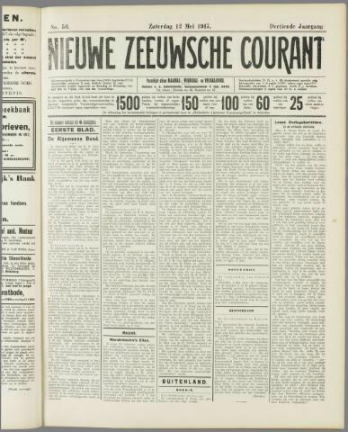 Nieuwe Zeeuwsche Courant 1917-05-12